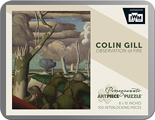 9780764969270: Colin Gill Observation of Fire 100-piece Jigsaw Puzzle