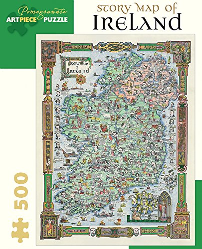 9780764969331: Story Map of Ireland: 500 Piece Jigsaw Puzzle