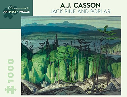 9780764969423: A.j. Casson Jack Pine and Poplar 1,000-piece Jigsaw Puzzle