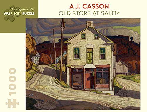 9780764969447: A.j. Casson Old Store at Salem 1,000-piece Jigsaw Puzzle