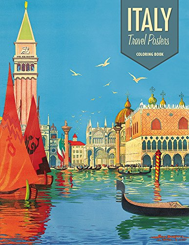 9780764969485: Italy: Travel Posters Coloring Book