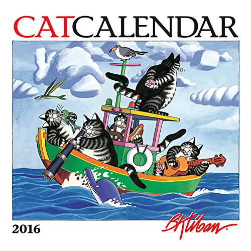 9780764969645: Kliban/Catcalendar 2016 Mini Wall Calendar