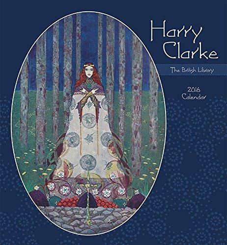 9780764969881: Harry Clarke 2016 Wall Calendar