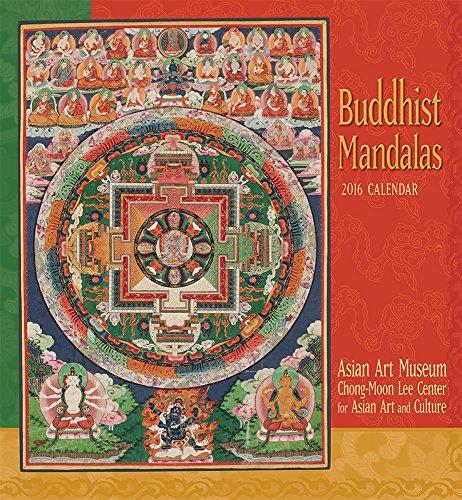 9780764969973: Buddhist Mandalas 2016 Wall Calendar