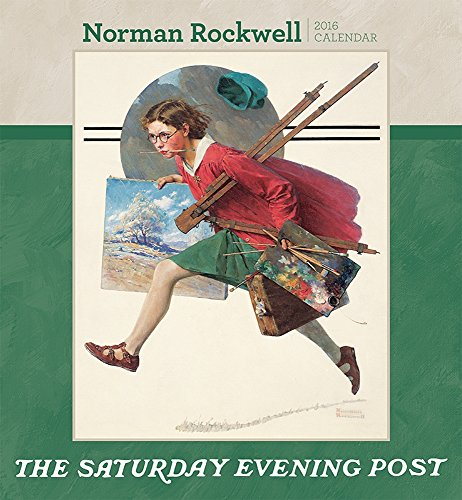 9780764969980: Norman Rockwell the Saturday Evening Post 2016 Calendar