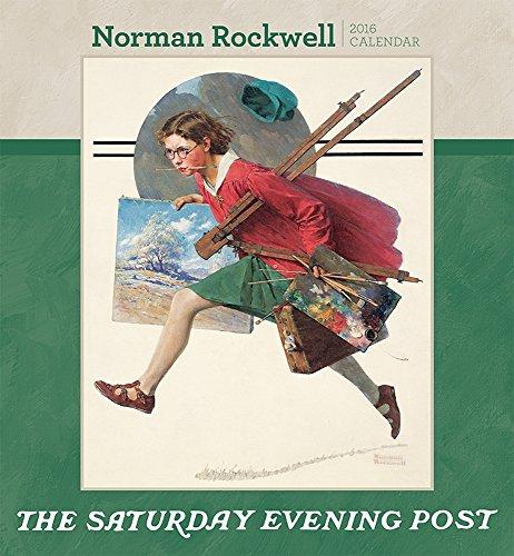 9780764969980: Norman Rockwell/Saturday Evening 2016 Calendar