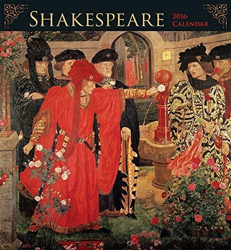 9780764970009: Shakespeare 2016 Calendar