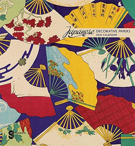 9780764970047: Japanese Decorative Papers 2016 Calendar