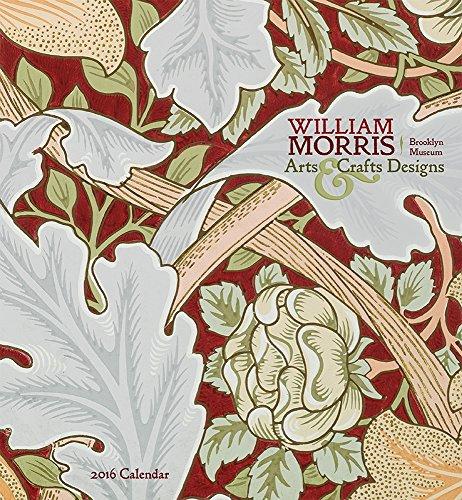 9780764970108: William Morris Arts Crafts Designs 2016 Calendar