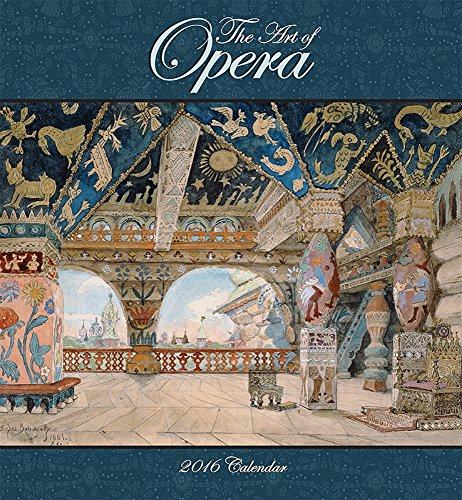 9780764970139: Art of Opera 2016 Wall Calendar