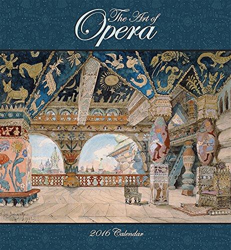 9780764970139: The Art of Opera 2016 Calendar
