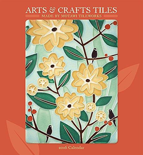 9780764970146: Arts & Crafts Tiles 2016 Calendar