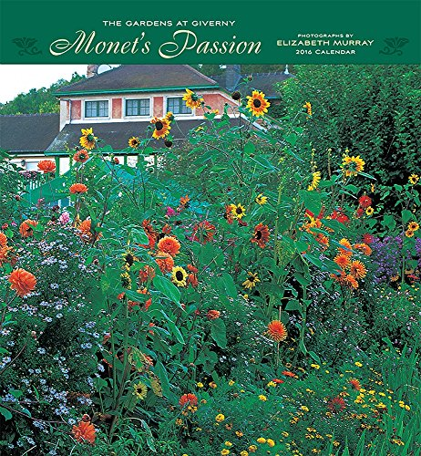 9780764970191: Monet's Passion/The Gardens at Giverny 2016 Calendar