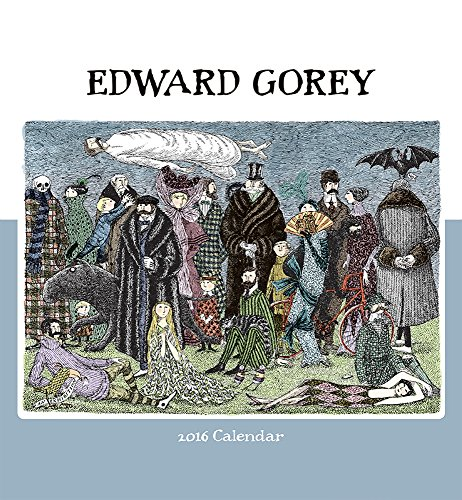 9780764970214: Edward Gorey 2016 Calendar