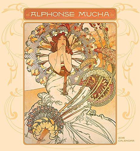 9780764970245: Alphonse Mucha 2016 Wall Calendar