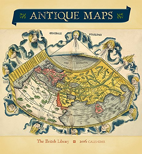 9780764970269: Antique Maps 2016 Wall Calendar