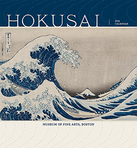 9780764970313: Hokusai 2016 Wall Calendar