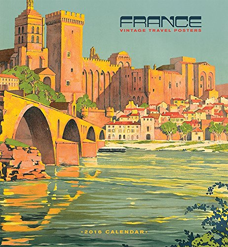 9780764970474: France/Vintage Travel 2016 Wall Calendar
