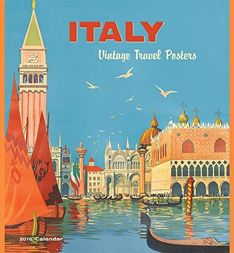 9780764970504: Italy/Vintage Travel 2016 Wall Calendar