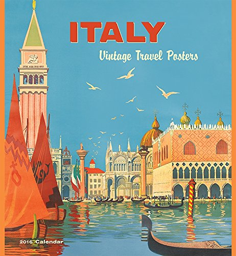 9780764970504: Italy Vintage Travel Posters 2016 Calendar
