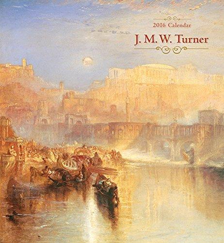9780764970528: J.M.W. Turner 2016 Wall Calendar