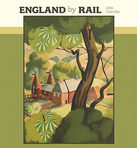 9780764970542: England by Rail 2016 Wall Calendar