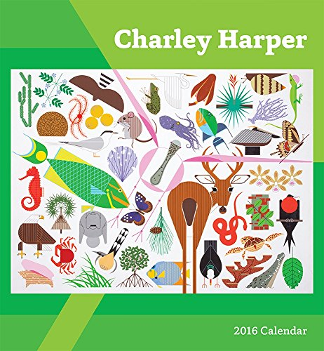 9780764970573: Charley Harper 2016 Wall Calendar