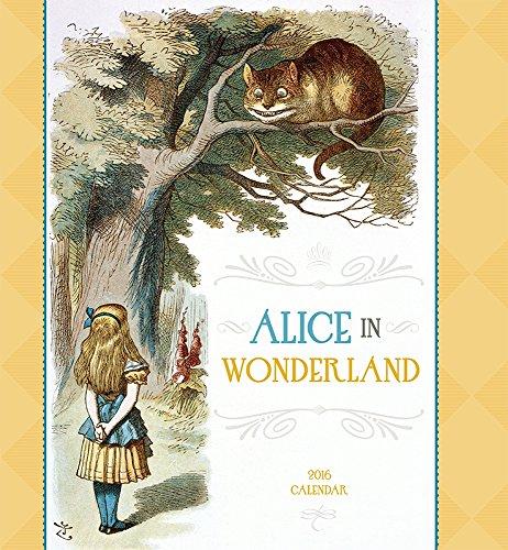 9780764970610: Alice in Wonderland 2016 Calendar
