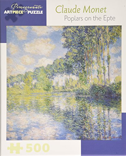 9780764970658: Claude Monet Poplars on the Epte: 500 Piece Jigsaw Puzzle