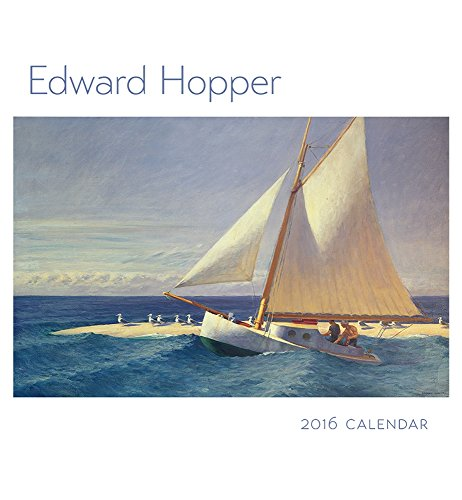 9780764970719: Edward Hopper 2016 Wall Calendar
