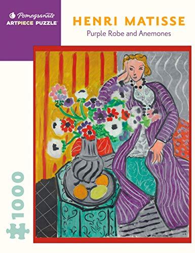 9780764970863: Purple Robe & Anemones 1,000-Piece Jigsa