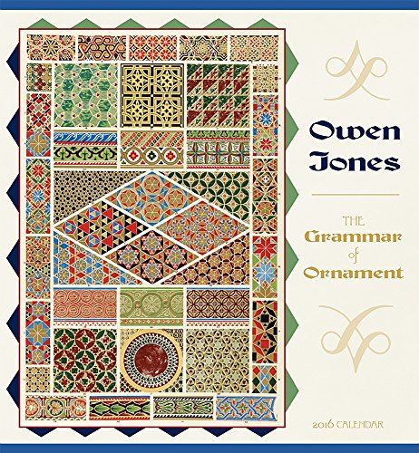 9780764971020: Jones/Grammar of Ornament 2016 Wall Calendar