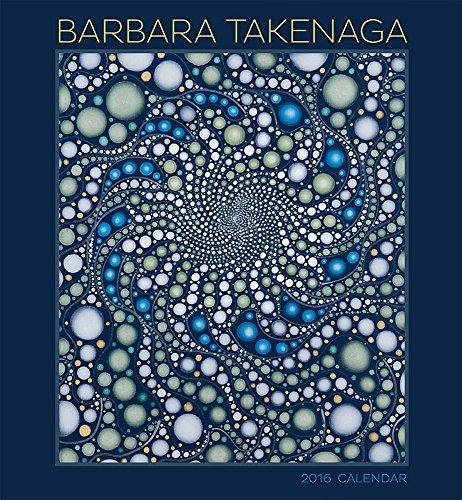 9780764971044: Barbara Takenaga 2016 Wall Calendar
