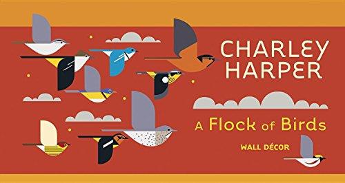9780764971228: Charley Harper Flock of Birds Wall Decor