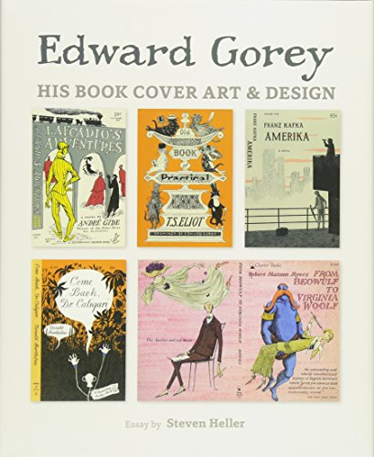 9780764971471: Edward Gorey: His Book Cover Art and Design