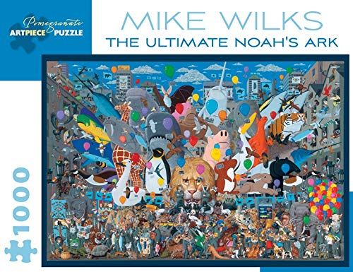 9780764971945: Mike Wilks the Ultimate Noahs Ark 1000-Piece Jigsaw Puzzle Aa895