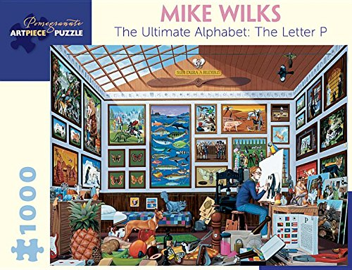 Pomegranate Communications Inc,US Mike Wilks The Ultimate Alphabet The Letter P 1000-Piece Jigsaw ...