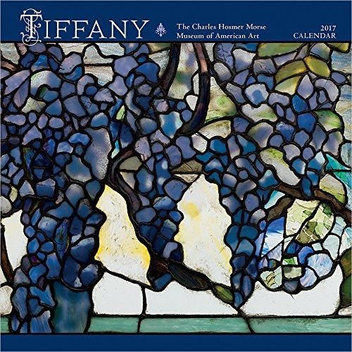 2017 Tiffany Mini Wall Calendar: Louis Comfort Tiffany