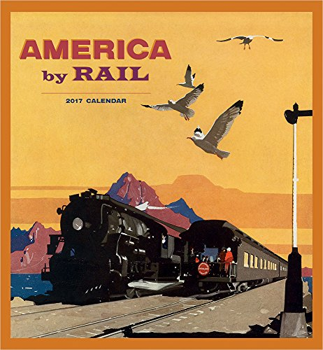 9780764973192: 2017 America by Rail Wall Calendar