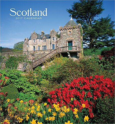 9780764973239: Scotland 2017 Wall Calendar
