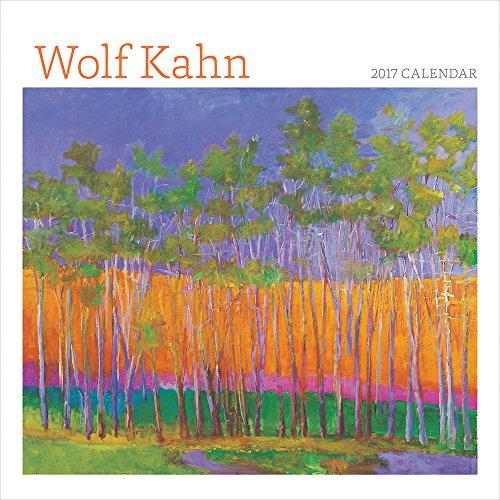 9780764973260: 2017 Wolf Kahn Mini Wall Calendar