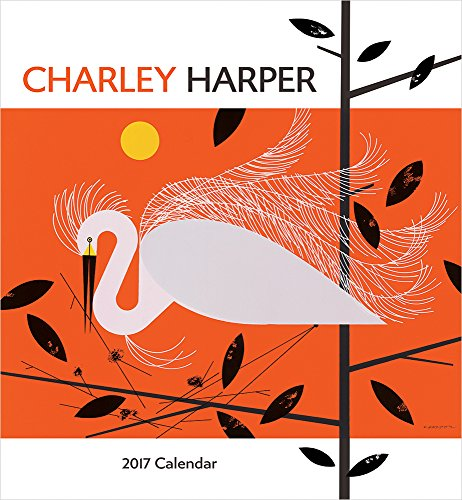 9780764973536: Charley Harper 2017 Wall Calendar