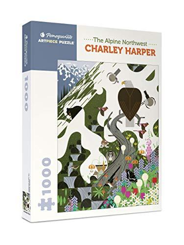 9780764973925: Charley Harper the Alpine Northwest 1000-Piece Jigsaw Puzzle