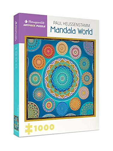 9780764973987: Paul Heussenstamm Mandala World 1000-Piece Jigsaw Puzzle Aa930