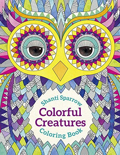 9780764976032: Shanti Sparrow: Colorful Creatures Coloring Book