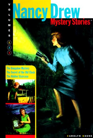 9780765117281: Nancy Drew Mysteries Stories: Secret of the Old Clock / The Hidden Staircase / The Bungalow Mystery