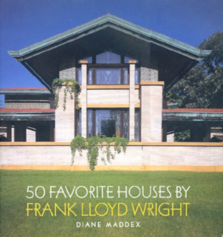 9780765117632: 50 Favorite Houses by Frank Lloyd Wright