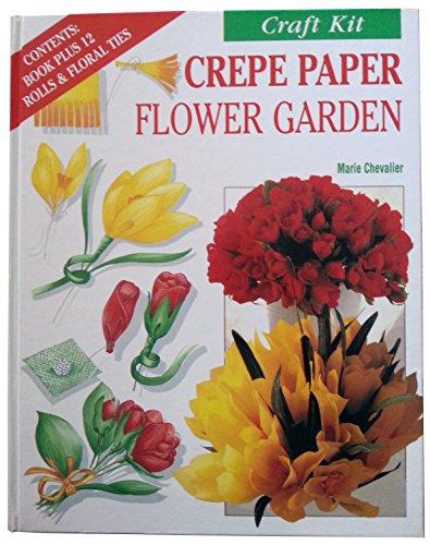 9780765191038: Fleurus Craft Kit: Crepe Paper Flower Garden