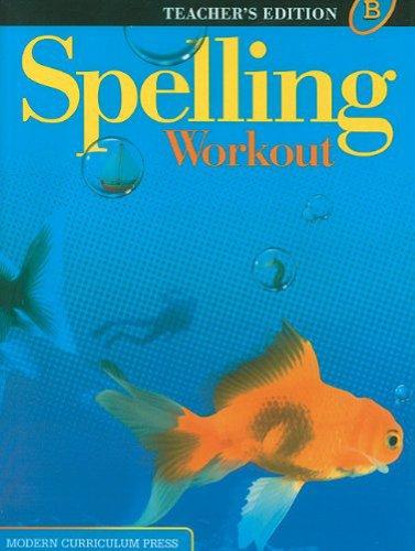 9780765224897: Spelling Workout, Level B, Teacher's Edition