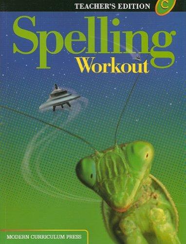 9780765224903: Spelling Workout: Level C, Teacher's Edition
